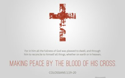 Colossians 1:9-20 – January 1, 2017