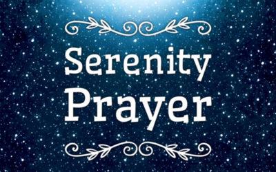 The Serenity Prayer – February 26, 2017