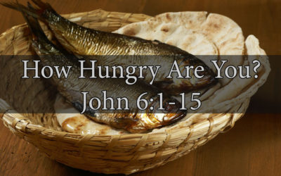 How Hungry Are You? (John 6) – November 5th, 2017 – PM – Pastor Tim Rehmer