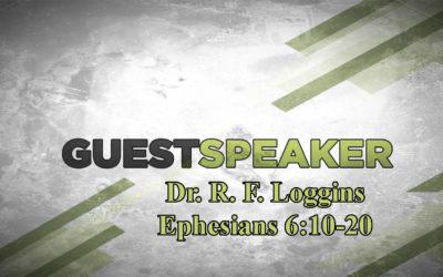 Dr R. F. Loggins – RF Loggins Ministries – December 17th, 2017 – AM – www.pastorloggins.com