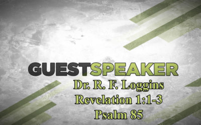 Dr R. F. Loggins – RF Loggins Ministries – December 10th, 2017 – PM – www.pastorloggins.com
